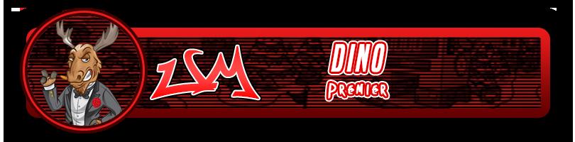 Dino, Premier